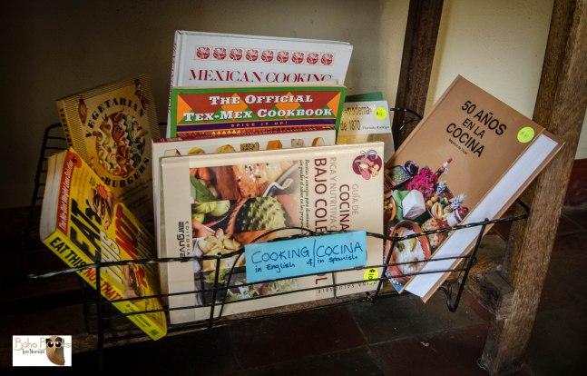 Cooking books in Spanish and English