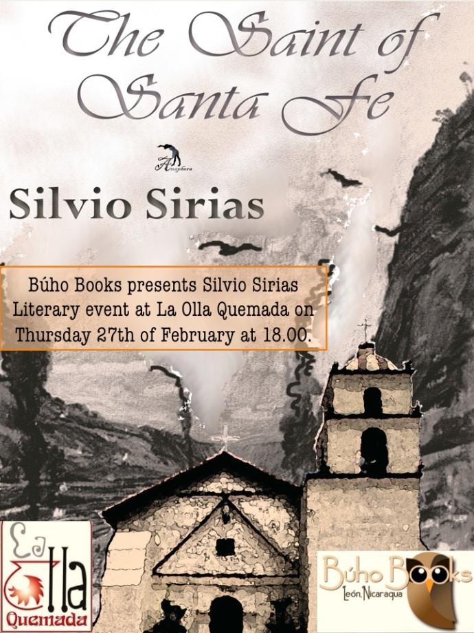 Literary event with Silvio Sirias
